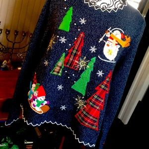 Reference point XL ugly Christmas sweater